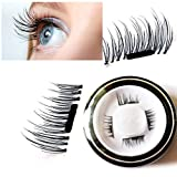Youke New False Magnetic Eyelashes, 3D...