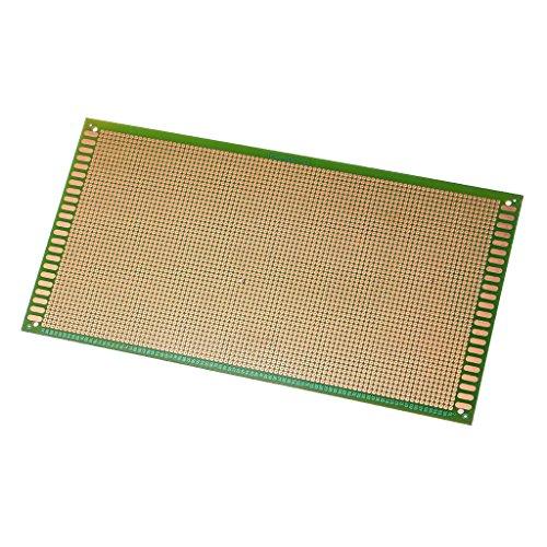 REMO-Y 13x25cm Einseitige Universalplatine PCB Löten FR-4 Glasfaser Elektronische Komponenten -
