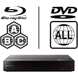 2016 SONY BDP-S1700 Multi Zone Region Code Free Blu Ray - DVD - CD Player - PAL/NTSC - Worldwide Voltage 100~240V - 1 USB, 1 HDMI, 1 COAX, 1 ETHERNET Connections