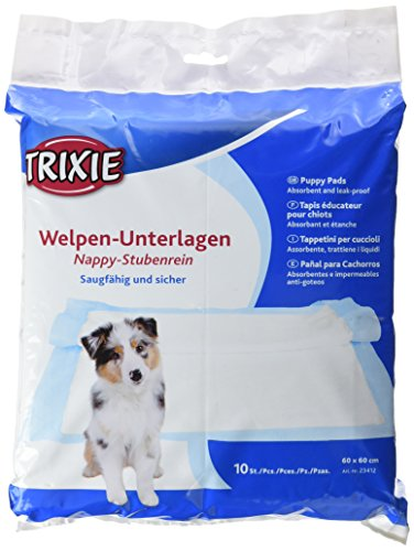 TRIXIE 23412 Nappy-Stubenrein, 60 × 60 cm, 10er Pack