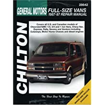 Chevrolet Vans, 1987-97 (Chilton's Total Car Care Repair Manuals)