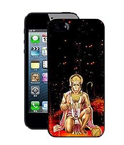 Crazymonk Premium Digital Printed Back Cover For Apple I Phone 5C