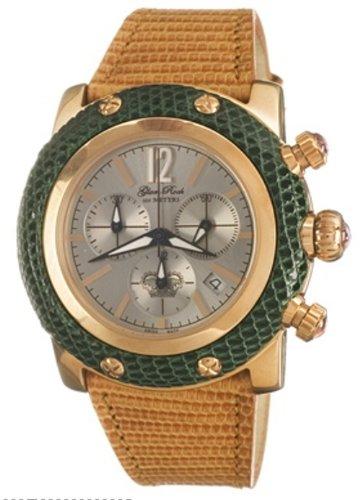 Glam Rock Watch GR10117 - Reloj de Mujer de Cuarzo, Correa de Piel Color marrón
