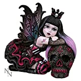 Lolita Little Shadows Hand Painted Resin Goth Girl Figurine By Nemesis Now
