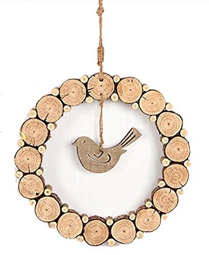 icegrey legno fetta decorazione cerchio rustico paese