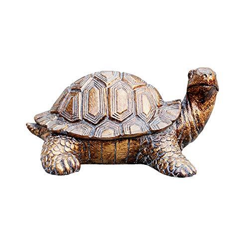 Creative portacandele tartaruga personalità europeo salotto tavolino con coperchio decorazione della casa ornamenti grande posacenere