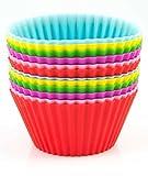 Dealglad® 12 pirottini in Silicone per dolci, biscotti e Muffin Stampo per dolci-Stampo per budino