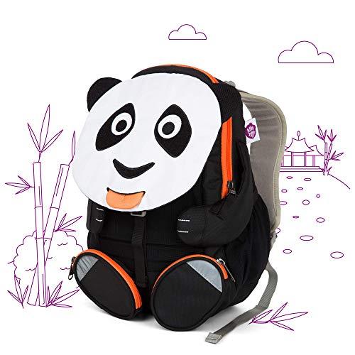 Affenzahn Kindergarten Backpack Large Friends White Paul Panda