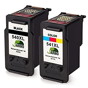jarbo remanufactured canon pg 540xl cl 541xl cartouches d. Black Bedroom Furniture Sets. Home Design Ideas