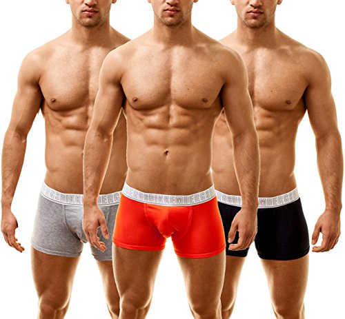bikkembergs-homme-boxershorts-classic-boxer-trunk-3-pack-multicolore-large