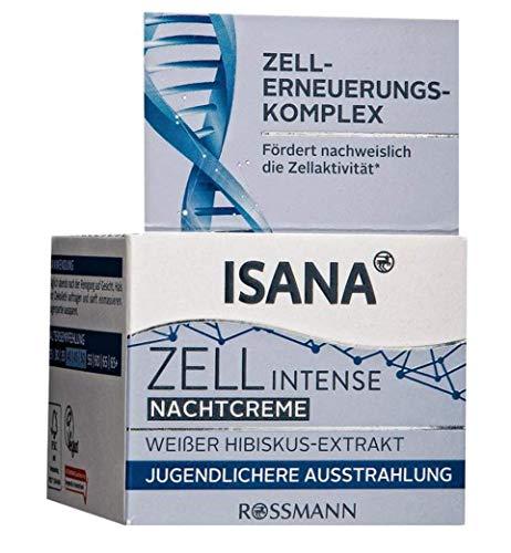 ISANA Nachtcreme - Zellerneuerungskomplex, 50 ml