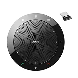 7510-309 - Jabra (GN Netcom) SPEAK 510+ Bluetooth and USB Speakerphone for MS Lync Bundle with Link