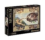 Clementoni 31402 - Puzzle Michelangelo - La Creazione dell'Uomo, Collezione Museum, 1000 Pezzi