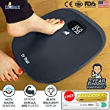 #3: Dr Trust ABS Absolute Grey Personal Digital Scale Weighing Machine for Body Weight with Digital Thermometer and Measuring Tape