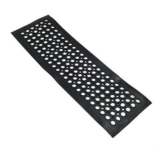 TR Tools Heavy Duty Gummi Stufenmatte Treppenstufe Schritt Mats mit und Outdoor-Rutschfeste 30x 90cm