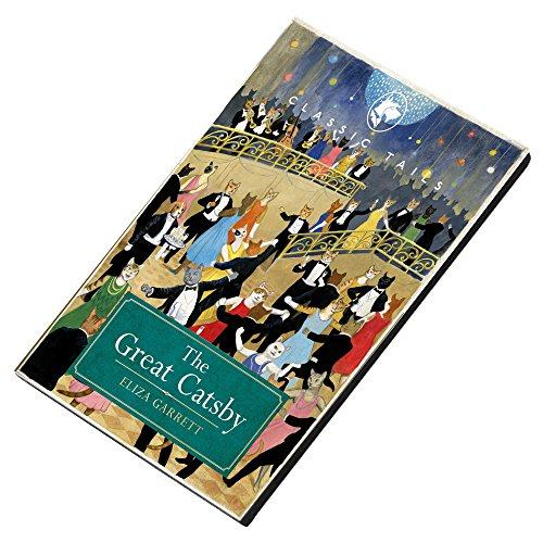 Classic Tails The Great Catsby Beautifully Illustrated Magnet
