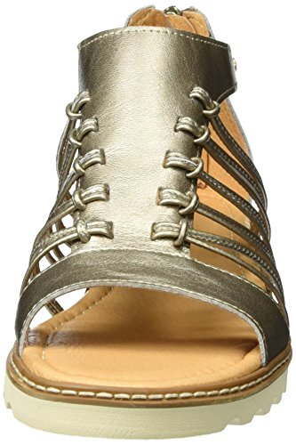 Pikolinos Alcudia W1l_v17, Sandales Bout Ouvert Femme Argent (Onix)