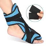 Plantarfasziitis Nachtschiene, Medical Fersensporn Bandage Orthese fuß Fußschiene Night Splint Unterstützung Fußorthese Mit K