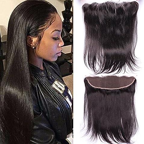 Romantic Angels® 10''(25cm) Bresilien Cheveux Raides Lace Closure (13*4)