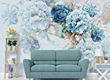 Yosot Nordic Benutzerdefinierte Frische Handgemalte Tapeten Pfingstrose Blumen Garten Wohnzimmer Tv-Kulisse 3D Tapete-200Cmx140Cm