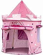 Questa tenda è il luogo di gioco ideale per divertirsi e imparare allo stesso tempo (gioco simbolico). I bambini non vorranno più uscire dalla tenda! LA TUA BAMBINA PUÒ IMMAGINARE DI ESSERE UNA PRINCIPESSA NEL PROPRIO CASTELLO, è il lu...