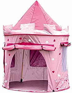 cabane enfant maison pour fille chateau de princesse jardin ou int rieur tente de jeu. Black Bedroom Furniture Sets. Home Design Ideas