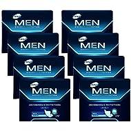TENA MEN Level 1 - Inkontinenzeinlagen für Männer mit leichter Blasenschwäche / Inkontinenz – an männliche Anatomie angepasste Einlagen - Vorteilspack (96 Hygiene-Einlagen)
