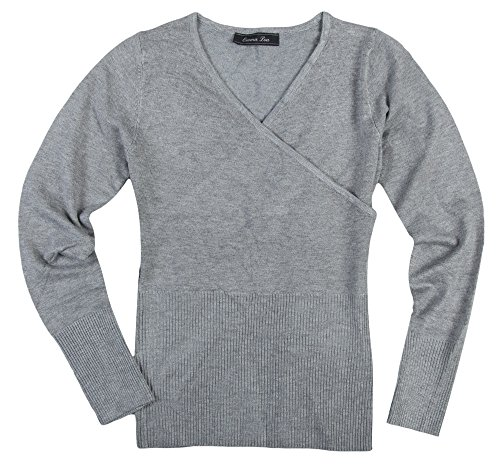 Lou Lou Damen Pullover (Emma Lou Paris Damen Pullover Grau MAYA-GREY, size:S)