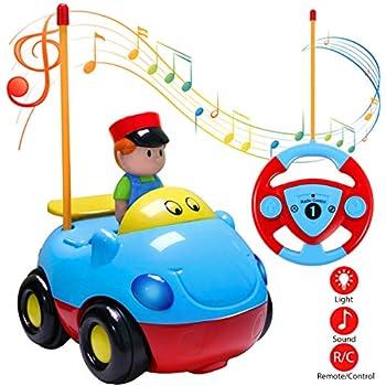 Voiture Course Pour Contrôle Camion Les Enfantsblue De Cartoon Joylink Jouet RadiocommandéRc Bébés Et 354RAjL
