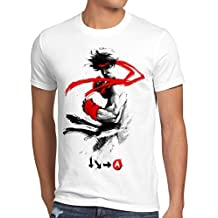 style3 Childhood Hero Fighter T-shirt da uomo final street beat em up arcade
