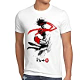 style3 Childhood Hero Fighter T-Shirt Herren final snes ps ps2 ps3 street beat em up arcade, Größe:XL;Farbe:Weiß