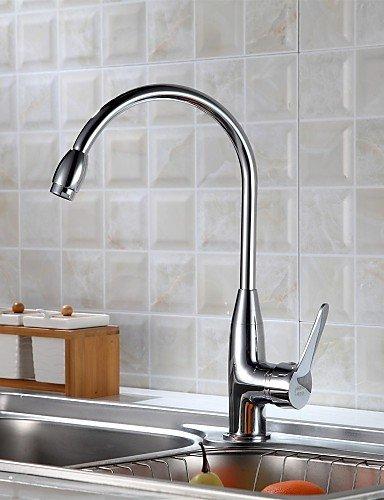 Delta-touch-wasserhahn (YFF@ILU Delta Küche Wasserhahn zeitgenössischen Touch/berührungslosen Edelstahl chrom gebürstet)