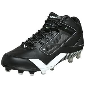 Moss 1 Mid Football Cleat, Black