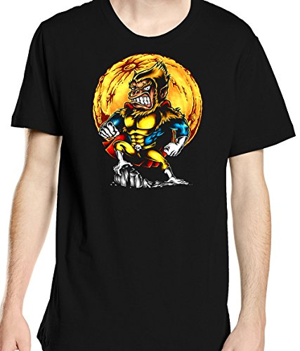 Renowned Men's Super Hero Ape King Kong T Shirt Weiß