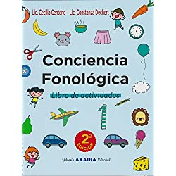 CONCIENCIA FONOLOGICA. Libro de actividades.