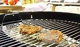 Grill-Schale Aroma-Schale Tropf-Schale Edelstahl für indirektes Grillen Aromatisieren wiederverwendbar