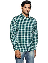 Arrow Sports Men's Checkered Slim Fit Casual Shirts at FLat 70% OFF low price image 4