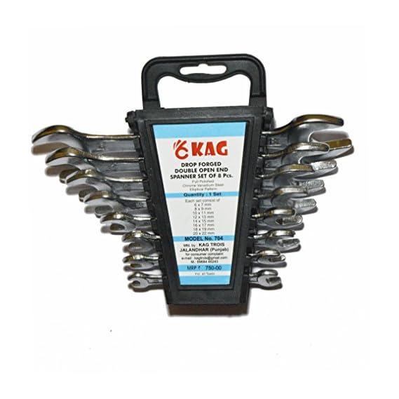 KAG 704 8 Pcs Doe Spanner Set