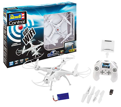 Revell 23856 Quadcopter GO WiFi, Multi Colour Best Price and Cheapest