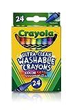 Crayola lavable Crayons, Multicolore, 2.61x 7.11x 11.53cm