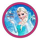 Tortenaufleger Eiskönigin Elsa mit Tex