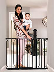 Easy Step Extra Wide Black Safety Gate