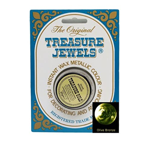Treasure Jewels Metallic Gilding Wax 25g - Olive Bronze by