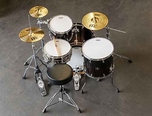 Meinl HCS Cymbal Set Up (includes 13-inch Hihat, 14-inch Crash, Free 10-inch Splash and One Pair of Pro-Mark 5A Sticks)
