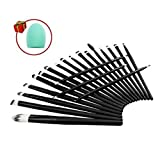 Mily-20-Pcs-Black-Rod-Makeup-Brush-Cosmetic-Set-Kit-With-A-Makeup-Brush-Cleaner