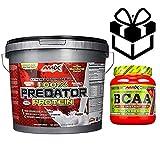 AMIX Predator Protein - 4 Kg Platano + Bcaa Instant + Mezclador