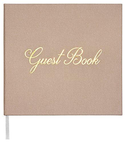 Leonora Modernes Gästebuch für Hochzeiten - Papier 150 GSM - 140 Seiten - Hochzeitsbuch - Album - Vintage Guest-Book für die Hochzeit