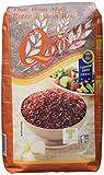 Q rice Jasminreis, rot, Langkorn, 2er Pack (2 x 1 kg)