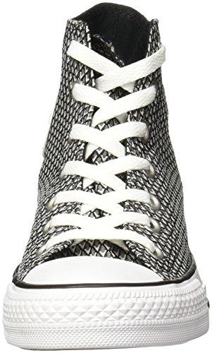 Converse All Star Hi Donna Sneaker Nero BLACK|MULTI