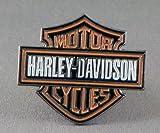 Spilla in metallo smaltato con logo di Harley Davidson